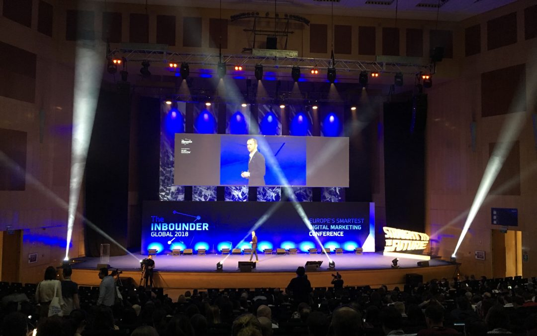 Resumen y tendencias de The Inbounder 2018 sobre Marketing Digital